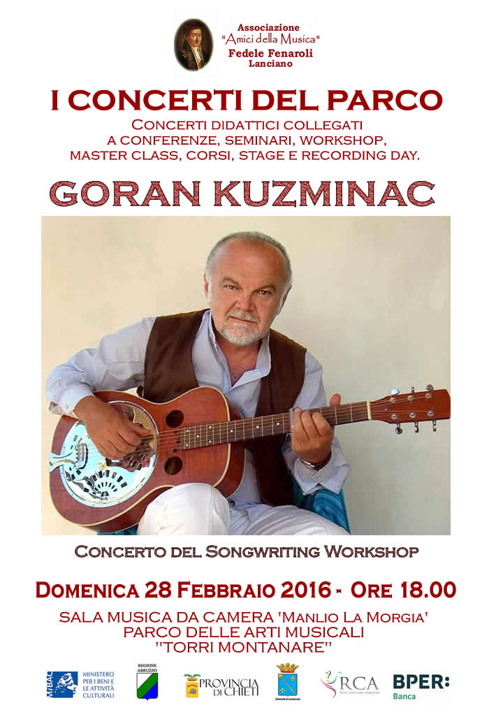 Songwriting Workshop e Concerto