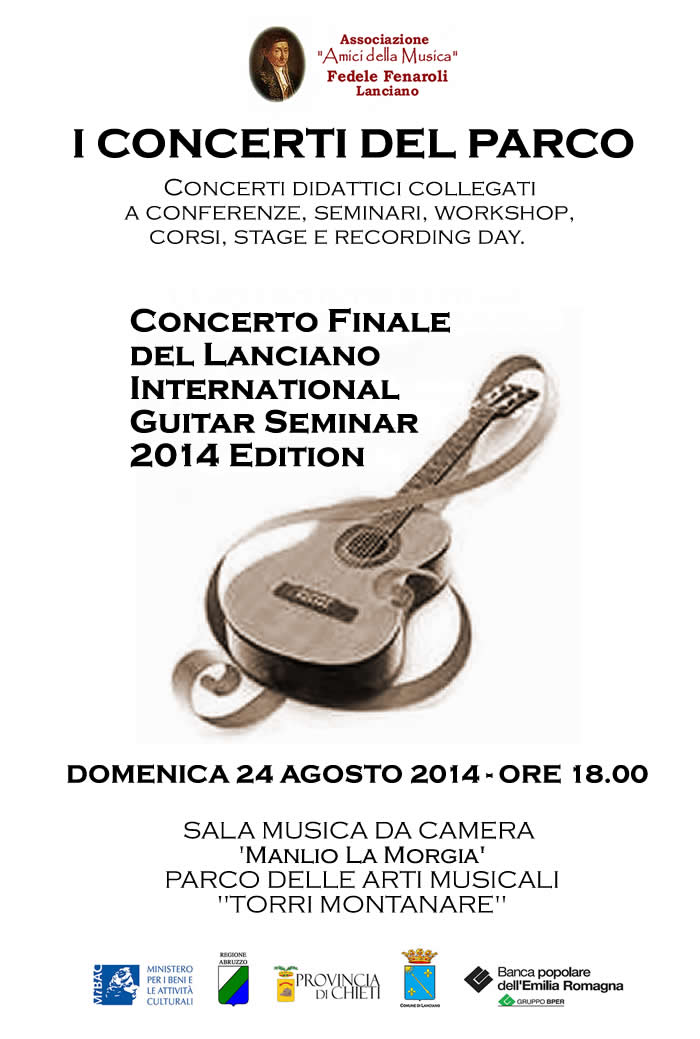 Concerto Finale del LANCIANO INTERNATIONAL GUITAR SEMINAR 2014 Edition