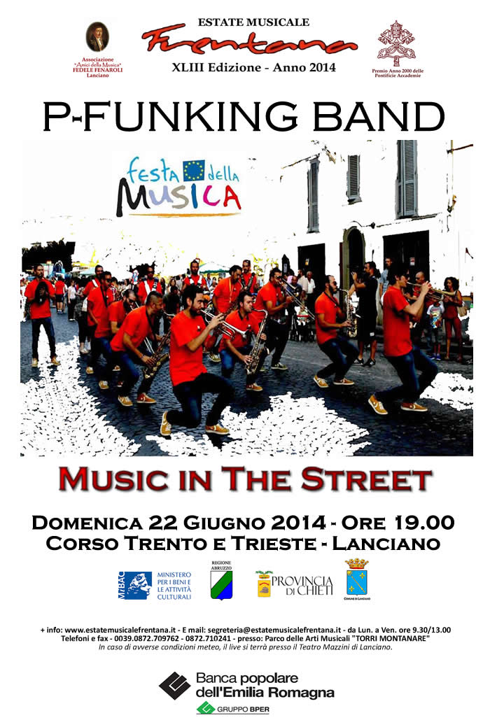 """Music in The Street"" P-Funking Band"