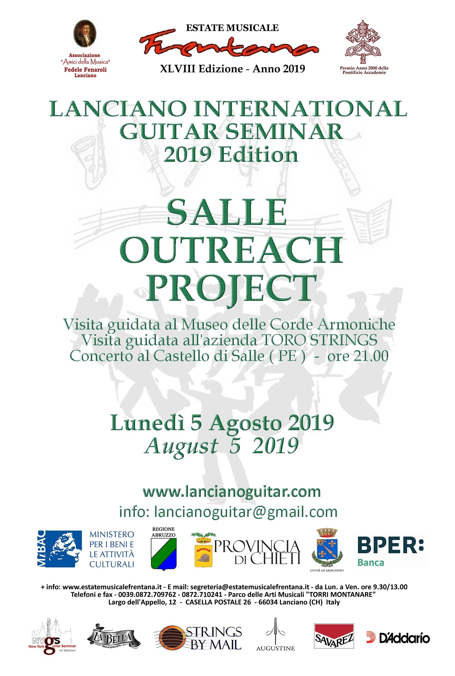 """Salle Outreach Project"""