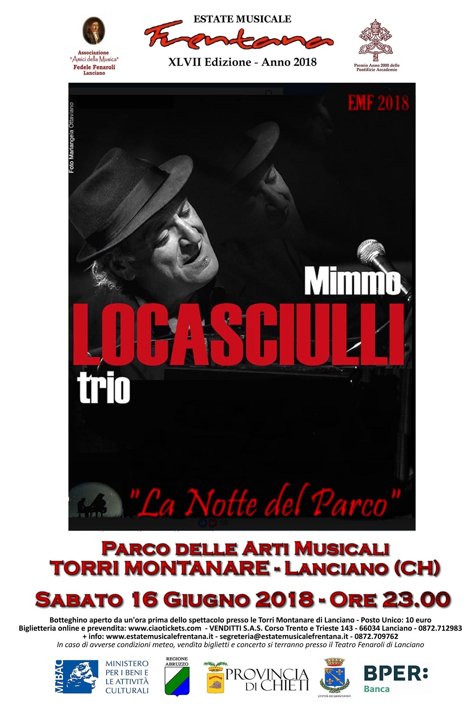 Mimmo Locasciulli Trio