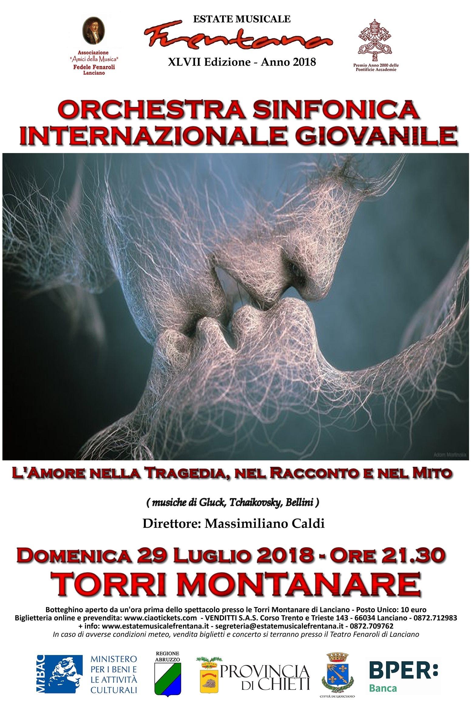 """Orchestra Sinfonica Internazionale  Giovanile """"F. Fenaroli"""" - L"""