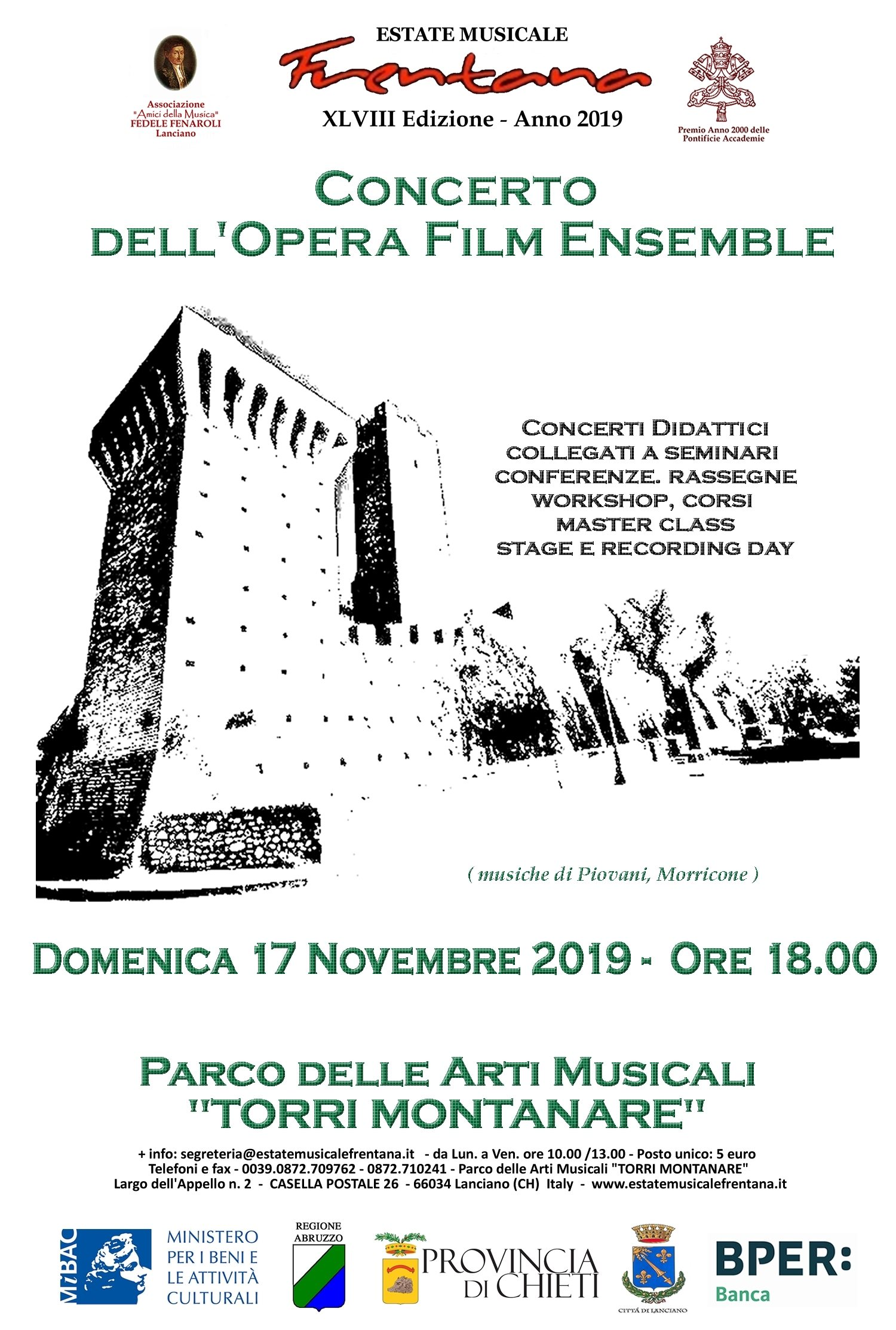 Concerto dell'Opera Film Ensemble